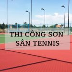 Bảng Báo Giá Nhận thi công sân Tennis