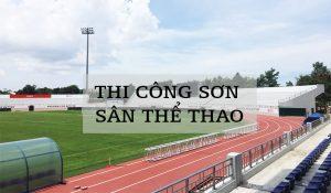 Thi Cong Sơn Sân Thể Thao