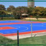 Sơn phủ cho sân bóng rổ