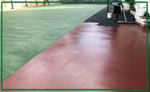 Thi Công Sân Tennis Tại Đồng Nai