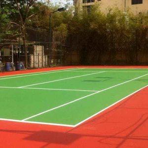 Hướng Dẫn Quy Trình Thi Công Sơn Sân Tennis